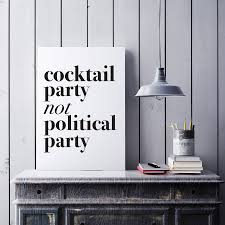 cocktail politics
