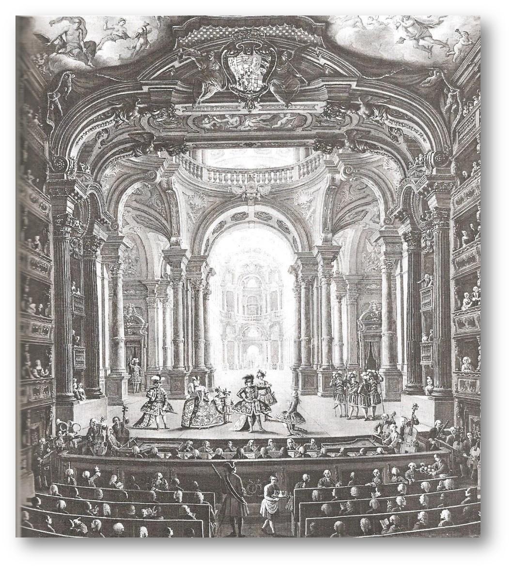 Teatro Regio, Turin 1740