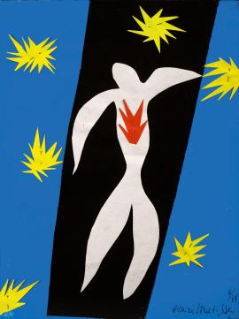 Matisse - The Fall of Icarus 1943