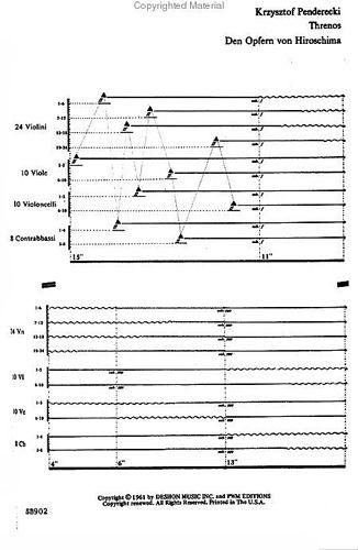 Penderecki Threnody score p1